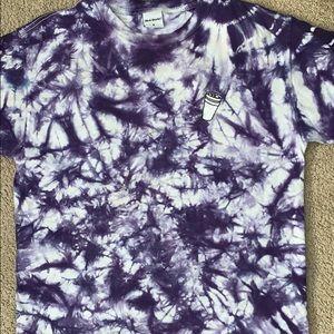 Other - Purple tie dye shirt